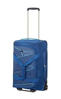 4106db2c01e26 American Tourister Road Quest Duffle with Wheels 55/20 Deep Water Blue