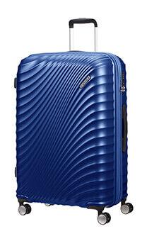 ef52f5fac93df American Tourister Jetglam Spinner 77cm Kovová modrá
